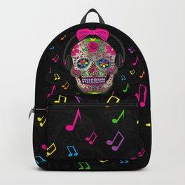 Sugar Skull Music Backpack