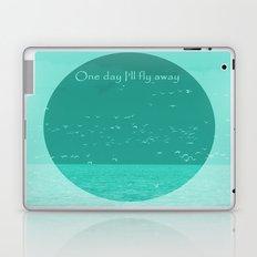 Fly away - Circle Week Laptop & iPad Skin