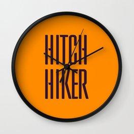 Hitch Hiker Wall Clock