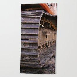 Tire Beach Towel