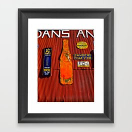 Signs, Signs, Everywhere a Sign Framed Art Print