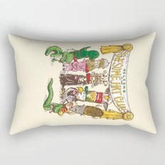 Awesome Hat Club Rectangular Pillow