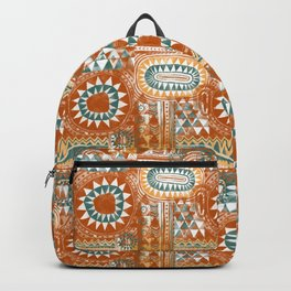 Tribal Bohemian Mosaic Backpack
