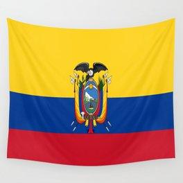 Flag of Ecuador -ecuadorian,Inca,Kichwa,Quito,america, South america,Spanish,Amazonia,latin america Wall Tapestry