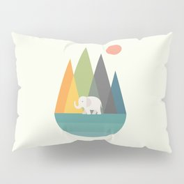 Walk In Peace Pillow Sham