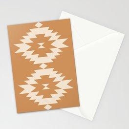 Southwestern Minimalism - Desert Orange Stationery Cards