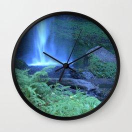Latourell Falls I Wall Clock