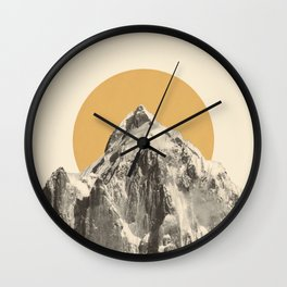Mountainscape 5 Wall Clock