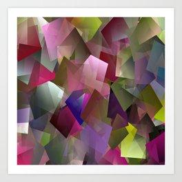 My Cubed Garden.... Art Print