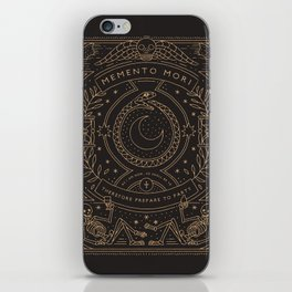 Memento Mori - Prepare to Party iPhone Skin