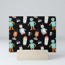 Mr. Roboto Black Mini Art Print