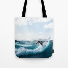 Catch A Wave 2 Tote Bag