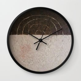 VIGO BROWN Wall Clock