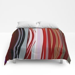 Abstract Composition 651 Comforters