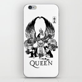 """""""QUEEN EXPEDITION"""" iPhone Skin"""