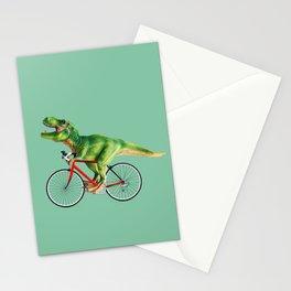T-REX BIKE Stationery Cards
