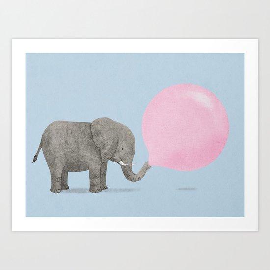Jumbo Bubble II Art Print