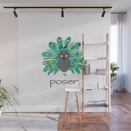 Poser Wall Mural