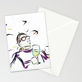 can't you see im LEISURING! Stationery Cards