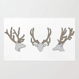 Three little Deer Rug