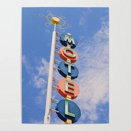 Vintage Motel Poster