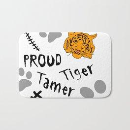 Proud Tiger Tamer Bath Mat