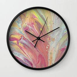 Spring Dip 1 Wall Clock