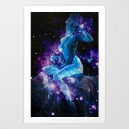 Celestial Body Art Print
