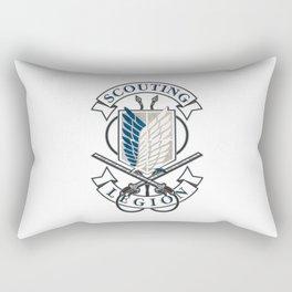 """Attack On Titan """"Scouting Legion"""" Rectangular Pillow"""