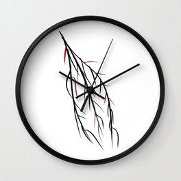 Autumn Willow Wall Clock