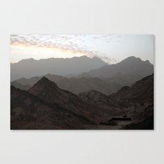 Sinai Mountains, Egypt Canvas Print