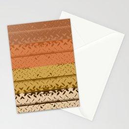 Desert Tread Plate Stationery Cards