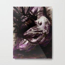 Hesitation Metal Print
