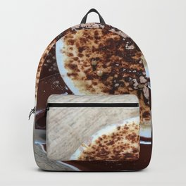 Cappuccino Coffee Drink Backpack