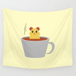 Hamster Bath Wall Tapestry