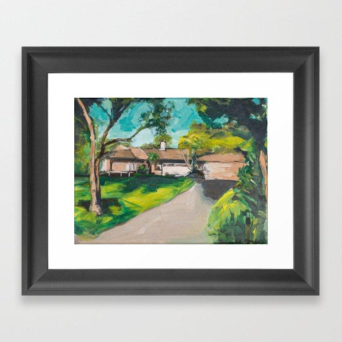 Golden Girls,Each View is an Postcard.... Framed Art Print