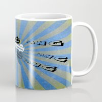 guns Mugs featuring guns by mark ashkenazi
