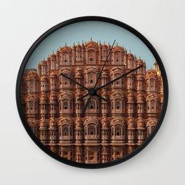 Jaipur, India Travel Artwork Wall Clock