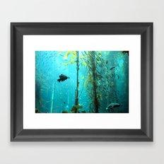 In the Ocean Framed Art Print