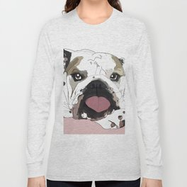 English Bulldog Love Long Sleeve T-shirt