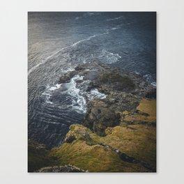 The Ocean on the Rocks Canvas Print