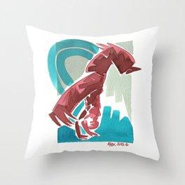 Capoeira 435 Throw Pillow