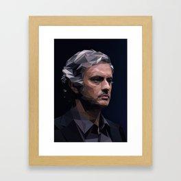Chelsea's Jose Mourinho Framed Art Print