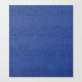 Sing Bluesky Canvas Print