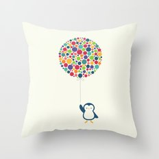 Float In The Air Throw Pillow