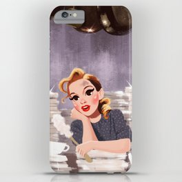Look For The Silver Lining - Judy Garland iPhone Case