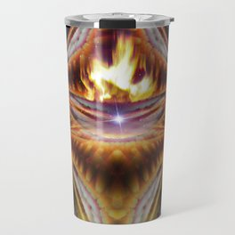 Journey to Sirius [series: Glitch Re:Work] Travel Mug