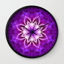 Mandala womenpower Wall Clock