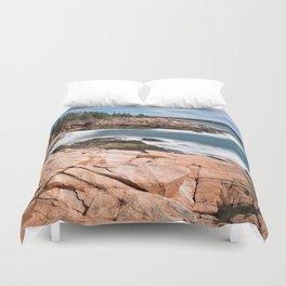 Acadia National Park - Thunder Hole Duvet Cover