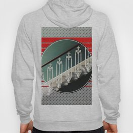 Stairway - red graphic Hoody